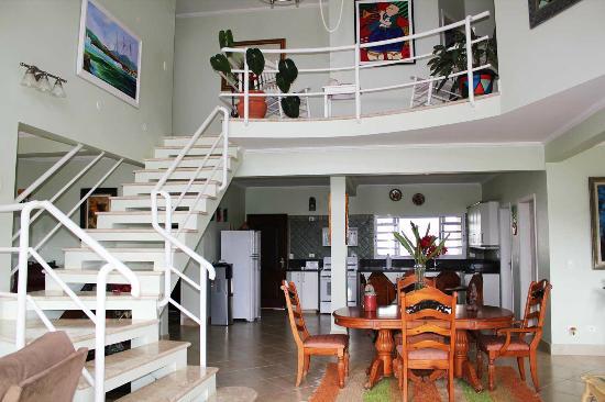 Villa Tenorio: Escadas para a suite 4 e 5