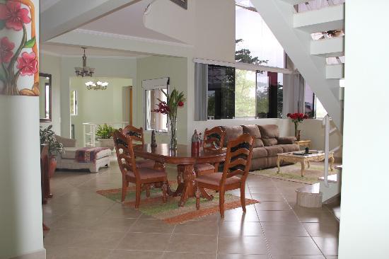 Villa Tenorio: Area Interna