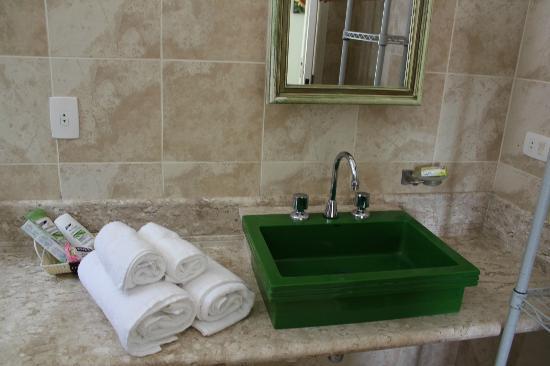 Villa Tenorio: Banheiro da Suite 2