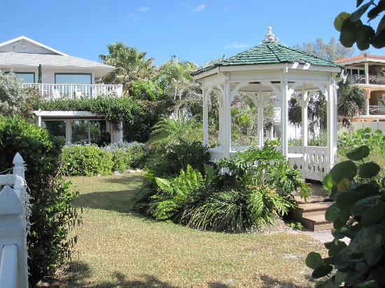 Harrington House Beachfront Bed & Breakfast: Lovely garden