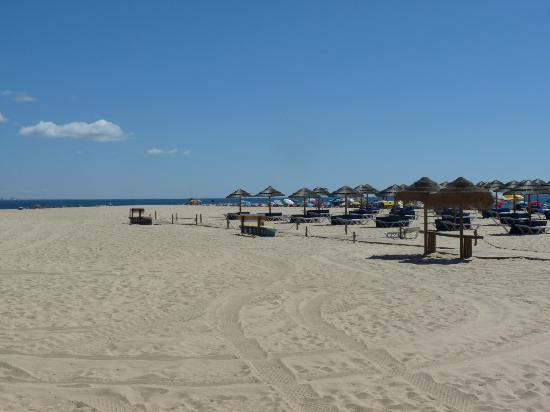 Tavira Island: plage privee