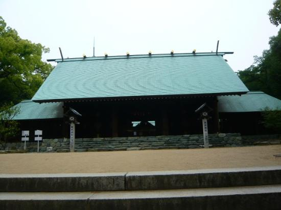 Shinome Shrine: 本堂