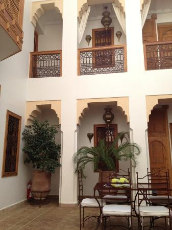 Riad RK: Patio