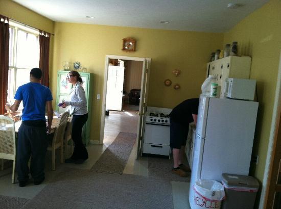 Wellnesste Lodge: kitchen