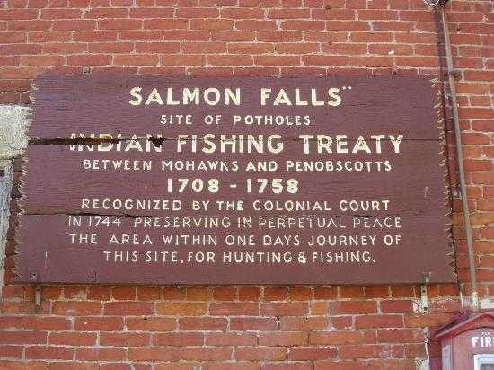 Glacial Potholes: The Salmon Falls Fishing Treaty With the English