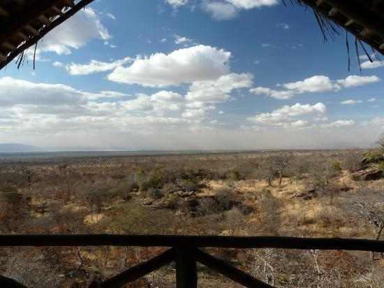 Maweninga Camp: View from our tent.