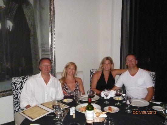 Dreams Palm Beach Punta Cana: Italian night