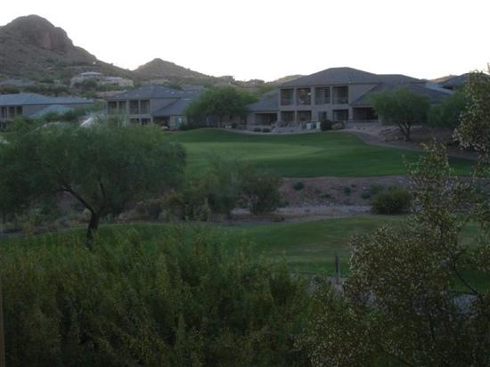 Gold Canyon Resort - Sidewinder Golf Course : don't remember which hole, view from villas on right side of tee off