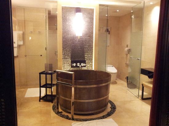 Banyan Tree Macau : Japanese bathtub