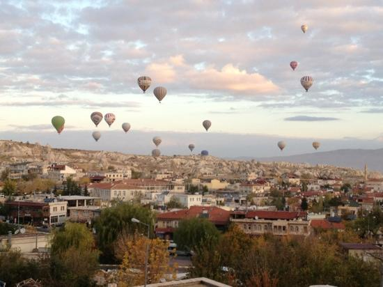 Cappadocia Cave Suites: view from my window