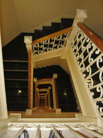 The Hotel at Times Square: The Hotel's staircase