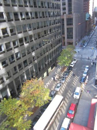 The Hotel at Times Square: A view from our room (8th flr, right)