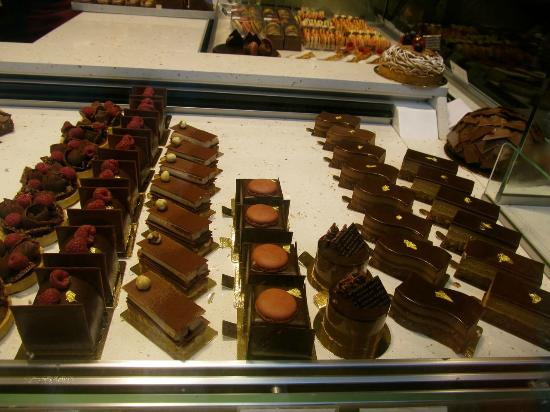 Patisserie Daniel Rebert: The chocolate pastries