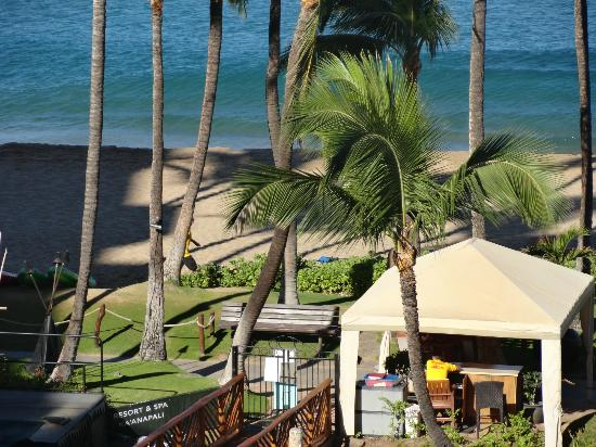 The Westin Maui Resort & Spa: view from our private balcony