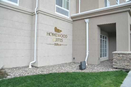 Homewood Suites by Hilton Rock Springs: Outside of hotel