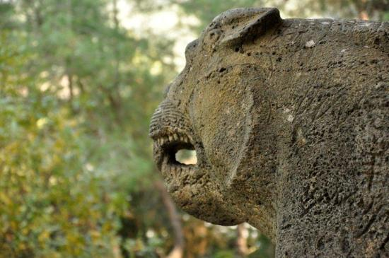 Karatepe: Lion head at the east gate