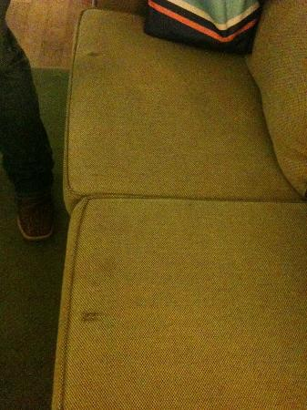 Extended Stay America - Macon - North: Stained couch