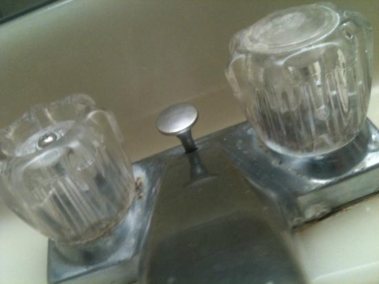 Ramada Hawthorne/LAX: filthy faucets - obviously had mold mildew for years!