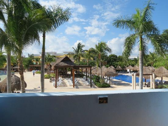 Iberostar Paraiso Lindo: View from our balcony - Bldg 54