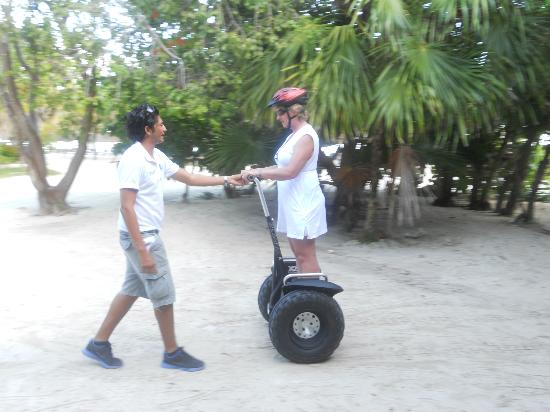 The Royal Suites Yucatan by Palladium: Segways