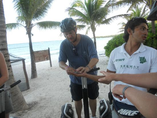 The Royal Suites Yucatan by Palladium: Segways!