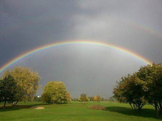 Golf De Gaillon: ciel de novembre 