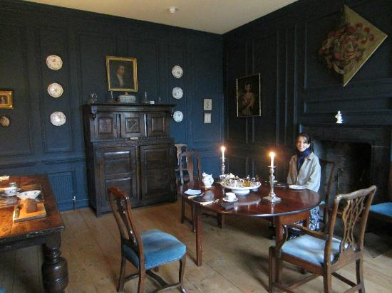Ballinderry Park: Breakfast in the dining room