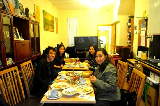 Springfield B&B: Irish breakfast, Day 1
