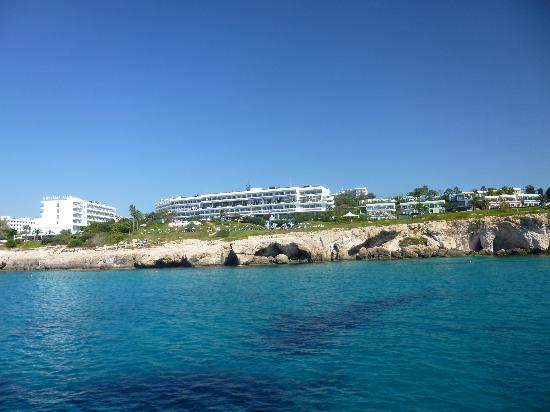 Atlantica Club Sungarden Hotel: view of hotel from boat trip