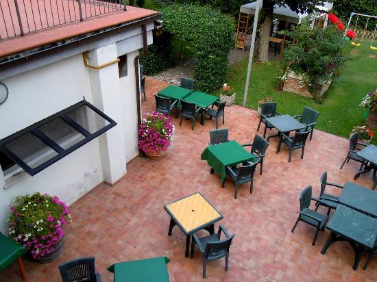 Hotel San Marco : vista sul giardino