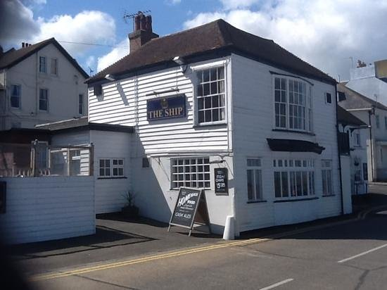 The Ship: One of the oldest buildings in Herne Bay.