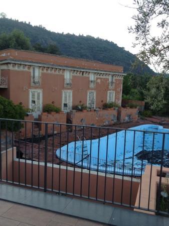 Hotel Santa Tecla Palace: вид с балкона