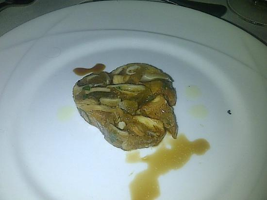 Girasole Restaurant: Chilled Mushroom Terrene