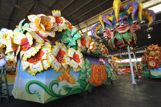 Blaine Kern's Mardi Gras World: Visit our famous float den!