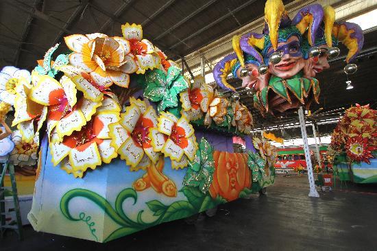 Blaine Kern's Mardi Gras World: Visit our famous float den!