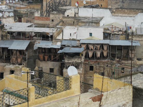 Hotel & Spa Riad Dar Bensouda: Vue de la terrasse