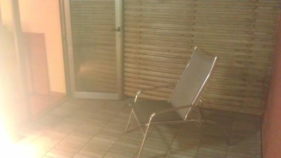 Hotel THe Fataga & Centro de Negocios: Outside deck Area