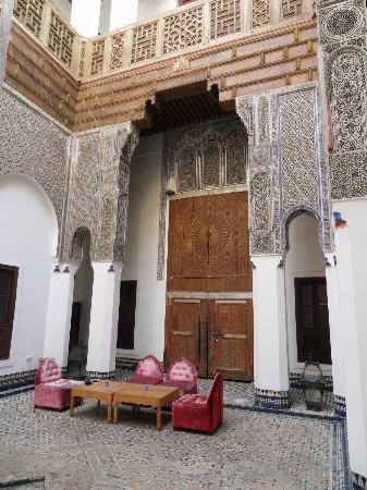 Hotel & Spa Riad Dar Bensouda: Porte de chambre donnant sur le patio