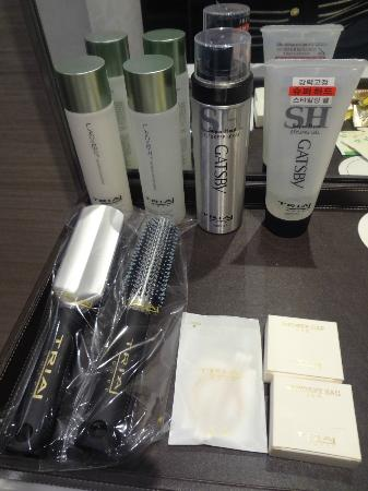 Hotel Tria: the Gatsby care product