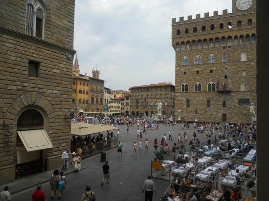 Relais Piazza Signoria: Udsigten var et helt kapitel for sig