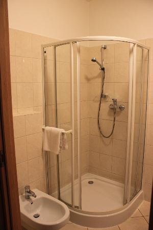 U Pana Cogito Hotel: Shower
