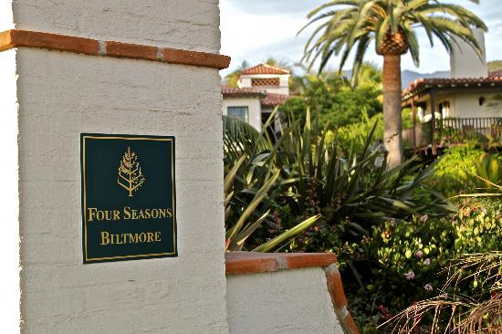 Four Seasons Resort The Biltmore Santa Barbara: Obvious Class Starts at the Front Gate