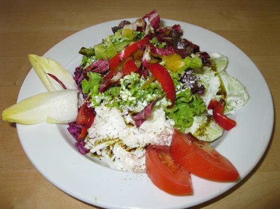 ErlebnisSennerei Zillertal: Mixed salad