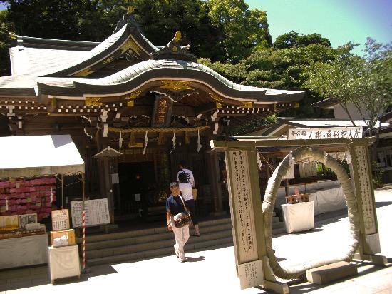 Enoshima Island: Shrine