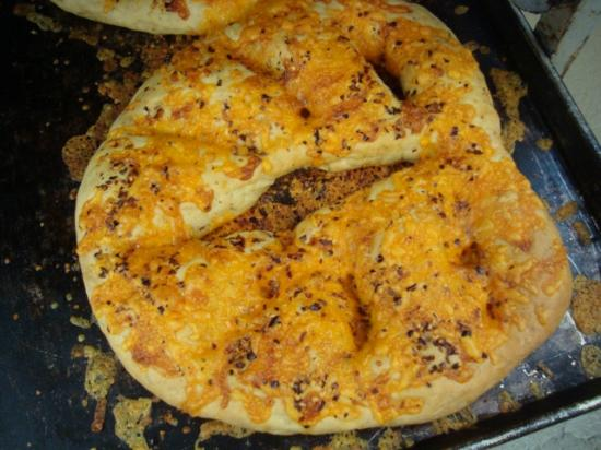 Walla Artisan Bakery & Cafe: Fougasse - spicy