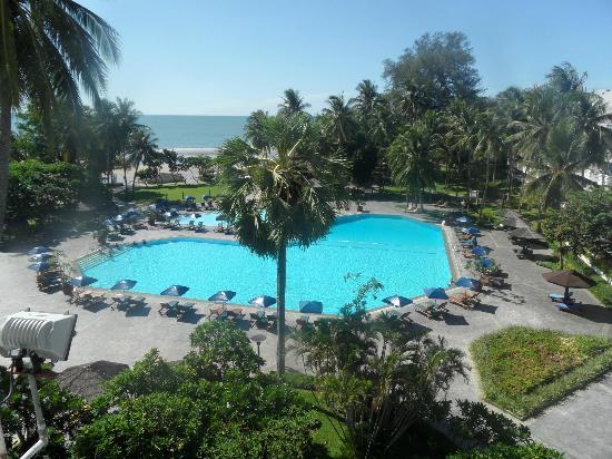 The Regent Cha Am Beach Resort: view from room