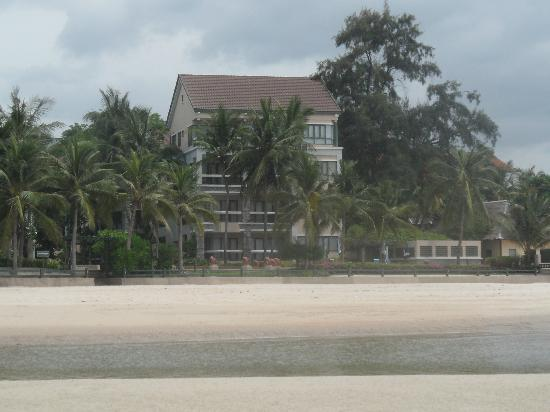 The Regent Cha Am Beach Resort: from the beach