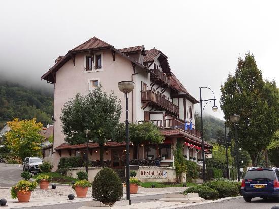 Logis La Villa du Lac Hotel: the hotel