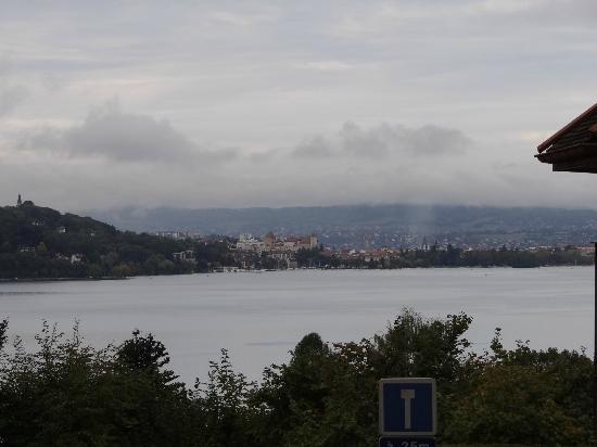Logis La Villa du Lac Hotel: room's view
