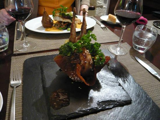 L'Ardoise: Delicious food and great presentation!